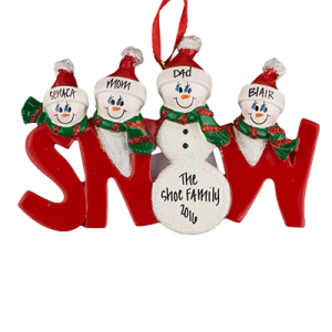 SNOW Family of 4