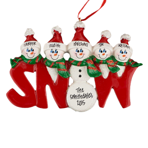 SNOW Family of 5