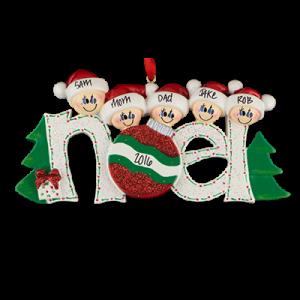Noel Family of 5