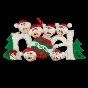 Noel Family of 6