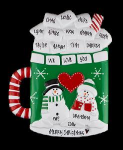 Marshmallow Mug Table Top