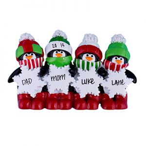 Penguin Table Top Family of 4