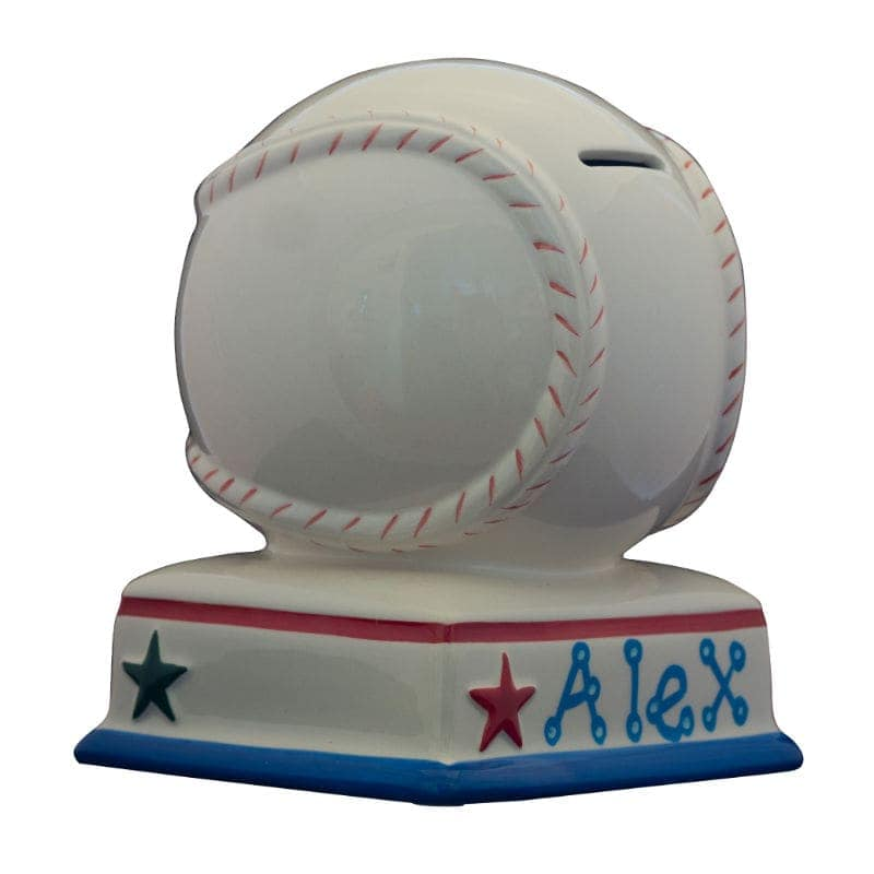 Baseball piggy bank - Coin banks for boys ...