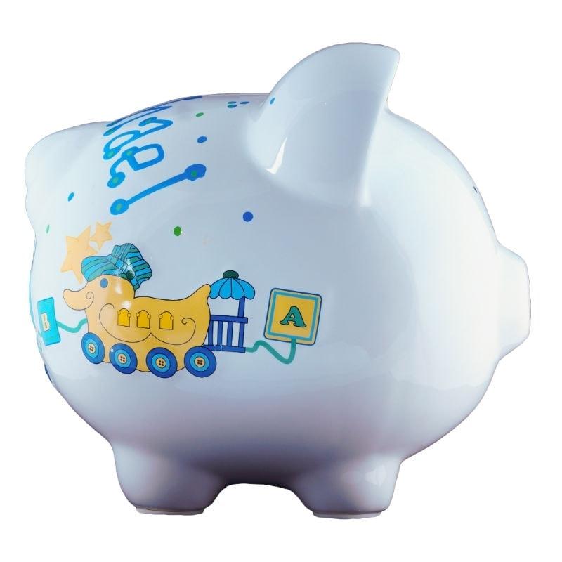 Duck train piggy bank large - Train piggy banks ...