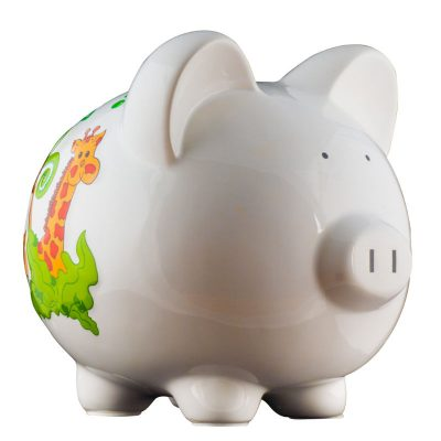 Jungle Piggy Bank - Large