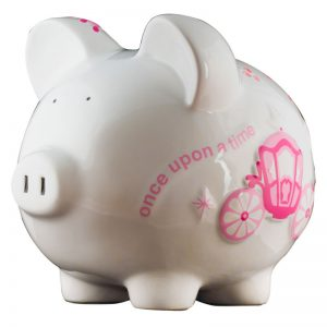 Princess Piggy Bank - Large