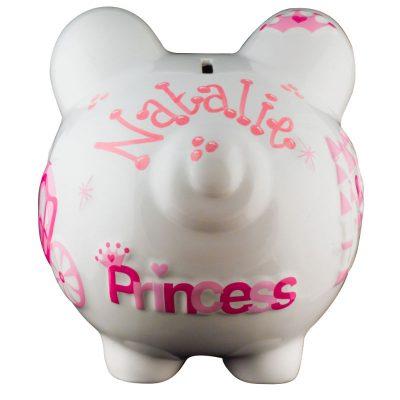 Princess Piggy Bank - Large