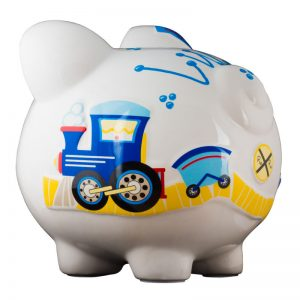 Train Piggy Bank - Large