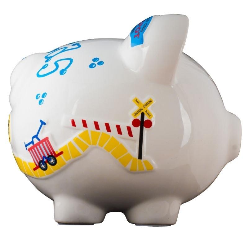 Train piggy bank large - Train piggy banks ...
