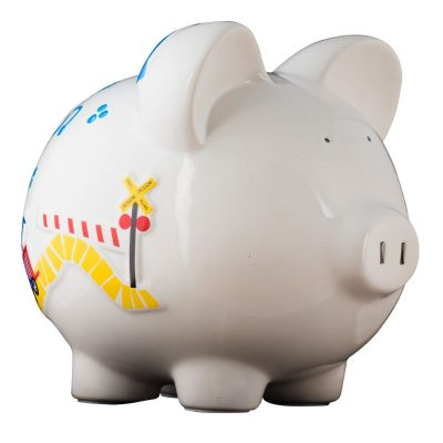 Train Piggy Bank - Large
