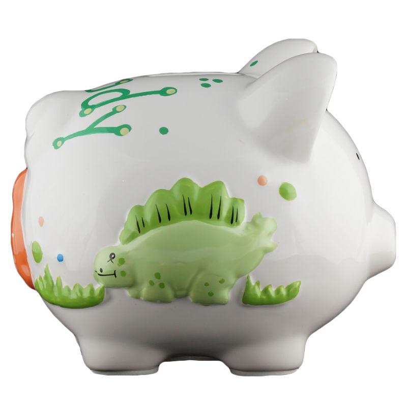 Dinosaur piggy bank small - Dinosaur piggy banks ...