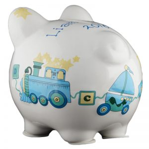 Duck Train Piggy Bank - Small