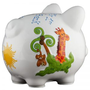 Jungle Piggy Bank - Small
