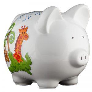 Jungle Piggy Bank - Small