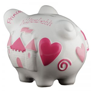 Princess Piggy Bank - Small