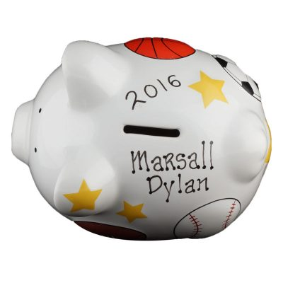 Sports Piggy Bank - Small