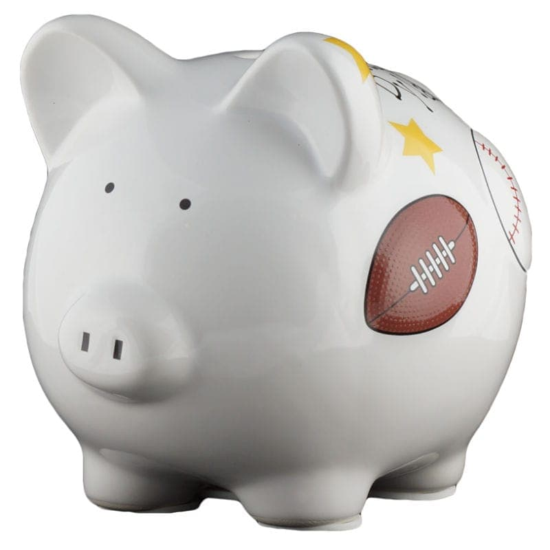Sports piggy bank small - Coin banks for boys ...