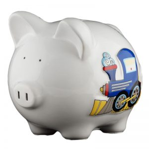 Train Piggy Bank - Small