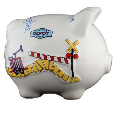Train Piggy Bank - Small