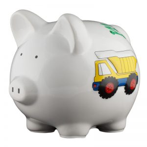 Work Truck Piggy Bank - Small
