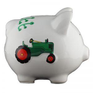 Work Truck Piggy Bank - Small