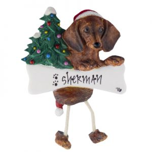 Dachshund (Red) Christmas Ornament