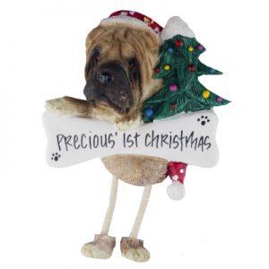 Sharpei Christmas Ornament