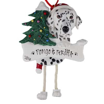 Dalmatian Christmas Ornament