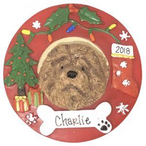 Chow Personalized Ornament