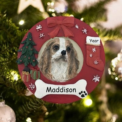 Personalized King Charles Christmas Ornament