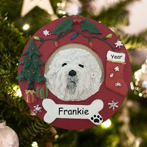 Personalized Lhasa Apso Christmas Ornament