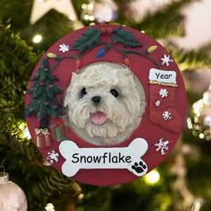Personalized Cairn Terrier Christmas Ornament