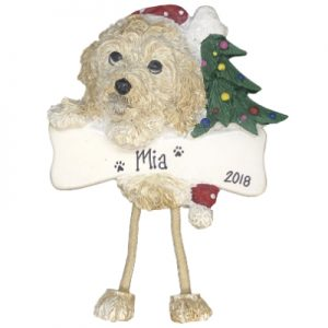 Cockapoo Personalized Ornament