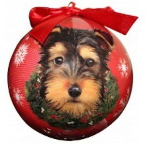 Yorkie (Pup) Christmas Ornament