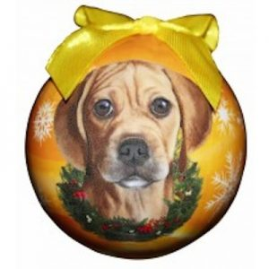 Puggle Christmas Ornament