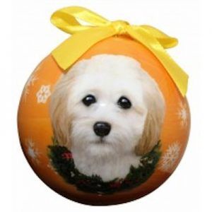 Cockapoo Christmas Ornament