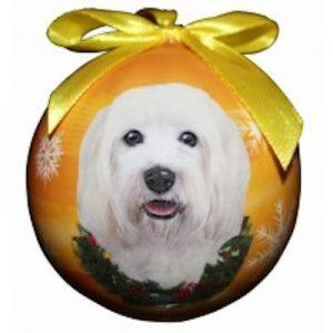 Havanese Christmas Ornament