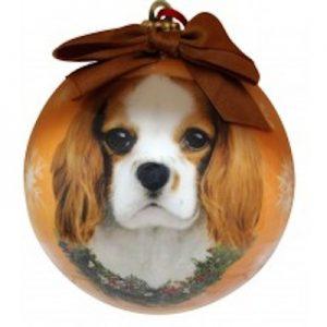 King Charles Cavalier Christmas Ornament