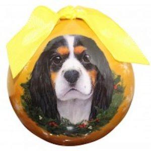 King Charles (Tri-Color) Christmas Ornament