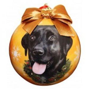 Labrador (Black) Christmas Ornament