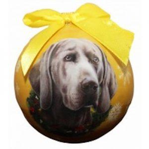 Weimaraner Christmas Ornament