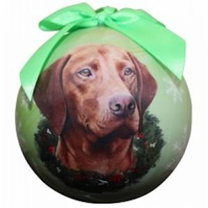 Viszla Christmas Ornament