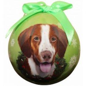 Brittany Spaniel Christmas Ornament