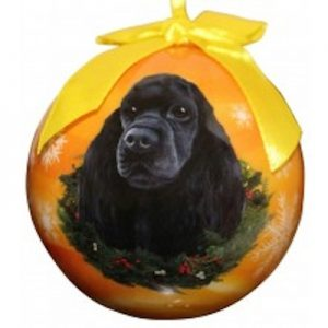 Cocker Spaniel (Black) Christmas Ornament