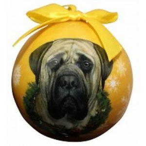 Mastiff Christmas Ornament