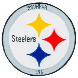 Pittsburgh Steelers Christmas Ornament