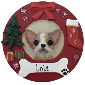 Chihuahua (Tan) Christmas Ornament