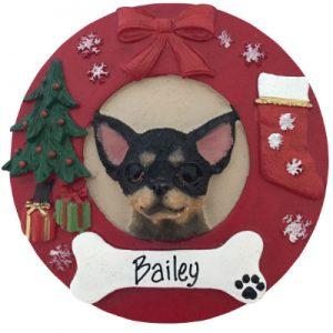 Chihuahua (Black) Christmas Ornament
