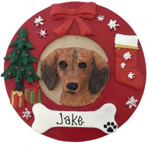 Dachshund (Red) Christmas Ornament