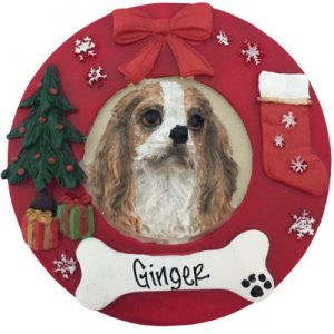 King Charles Cavalier Christmas Ornament